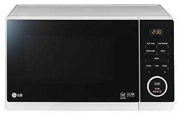 LG MH6353H - Microondas (1200W) Blanco y negro