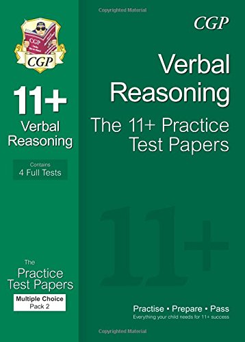 11+ Verbal Reasoning Practice Papers: Multiple Choice - Pack 2 (for GL & Other Test Providers) ebook