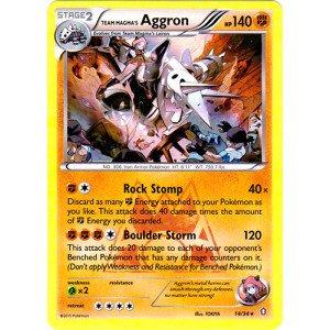 (Pokemon - Team Magma39;s Aggron (14/34) - Double Crisis - Holo)