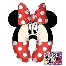 Minnie Mouse Kids Neck Comfy Pillow with Autograph Book Set by Disney