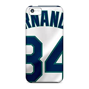 Protective Hard Phone Covers For Iphone 5c (kZw59lozl) Customized HD Seattle Mariners Skin