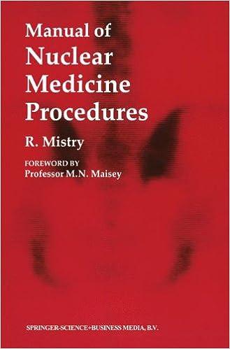 Manual of nuclear medicine procedures 9780412302404 medicine manual of nuclear medicine procedures 1988th edition sciox Image collections