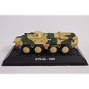 New 1/72 Tank Russian Soviet BTR-80 Vehicle Military Model Toy Soldier