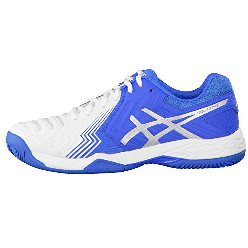 Tenis White Directoire Silver Asics Clay Hombre Gel de Blue para Game 6 Zapatillas v7zYwx7qR
