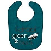 NFL Philadelphia Eagles WCRA1963514 All Pro Baby Bib