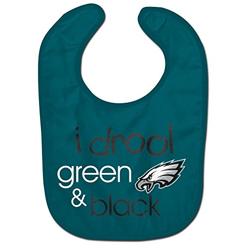 WinCraft NFL Philadelphia Eagles WCRA1963514 All Pro Baby Bib