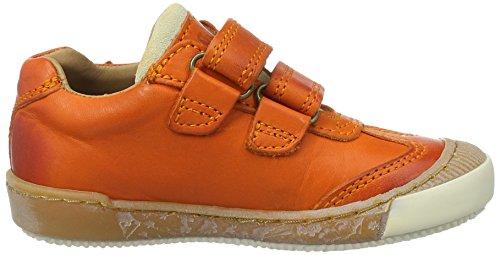 Bisgaard Klettschuhe - Zapatillas Unisex Niños Orange (2001-1 orange)