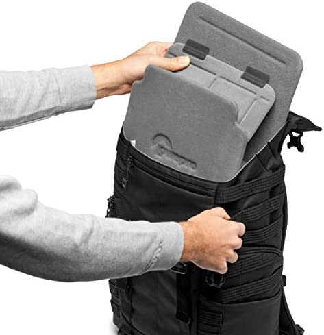 Camera Gear to Personal belongings for Mirrorless Like Sony Apha9 with QuickShelf Divider System LP37265-PWW Lowepro ProTactic BP 300 AW II Mirrorless and DSLR Backpack