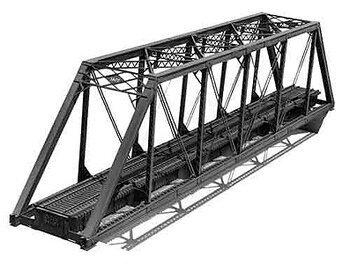 Central Valley - 150' Pratt truss bridge - HO