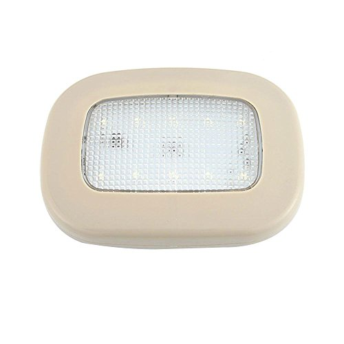 Car Reading Interior Light, Universal USB Rechargeable Wireless LED Car Dome Ceiling Reading Map Reading Cosmetic Mirror Home Camping Night Lamp Mirror Front Wardrobe