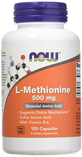 Now Foods L-Methionine 500 mg - 100 Caps 3 Pack