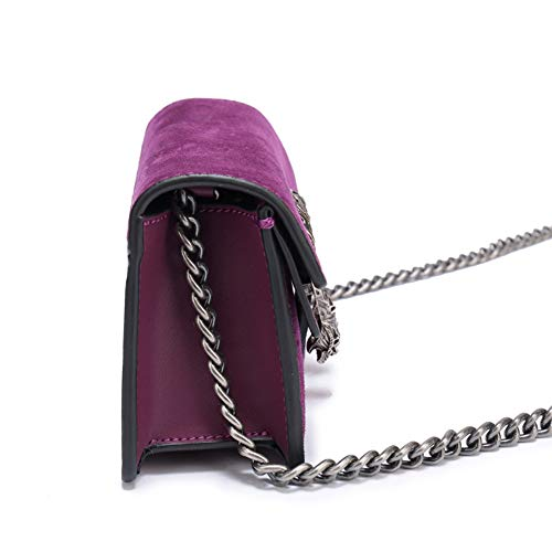 Bandouliere Sac Violet à en Pochette Matelassé SHELI à Bandoulière Sac Femme Cuir Mode Main PU Sac Z5qFftx