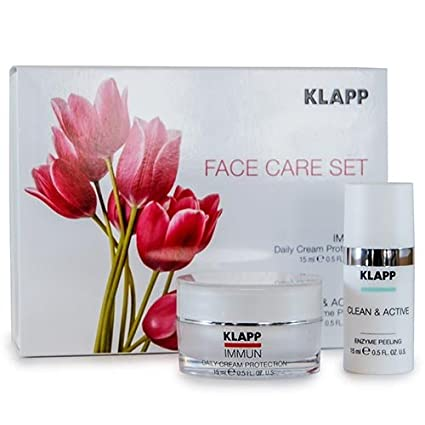 Face Care Set - immun Daily Cream Protection + Clean ...