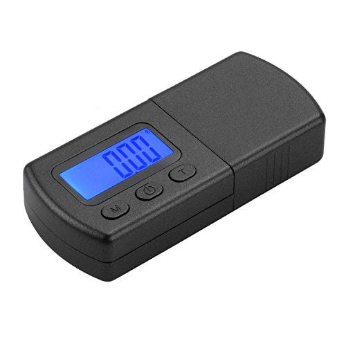BND Digital LP Turntable Tracking Force Gauge Stylus Scale 0.01g Blue LCD Backlight Stylus Pressure Gauge for Tonearm Phono Cartridge