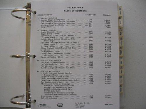 case 450 crawler dozer service manual j i case amazon com books on wiring diagram 450 case dozer