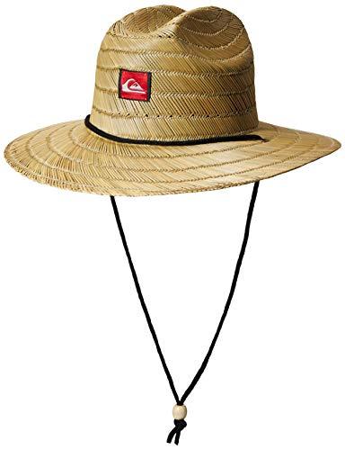 Quiksilver Boys' Big Pierside Youth Sun Protection, Plage, 1SZ (Little Boys Hat Quiksilver)