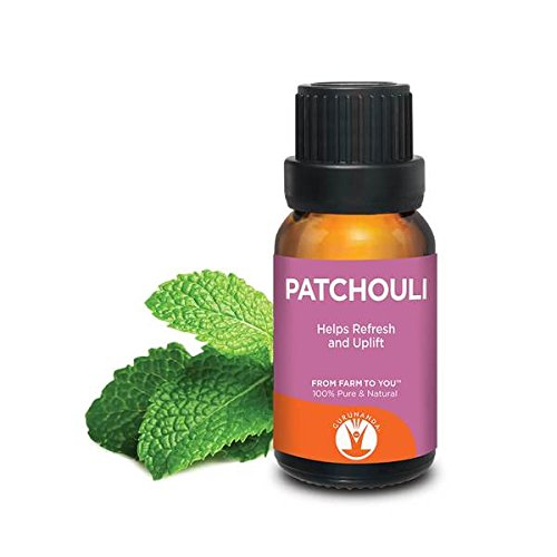 Price comparison product image GuruNanda Patchouli Essential Oil / Aromatherapy / GCMS Tested & Verified 100% Pure Essential Oils - Undiluted / Therapeutic Grade / 15 ml / Compare to doTERRA & Young Living