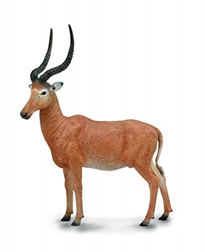 Rare Plastic Figure (CollectA Wildlife Hirola Antelope Toy Figure - Authentic Hand Painted Model)
