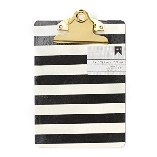 American Crafts 5 x 7 Inch Mini Clipboards Stripes -