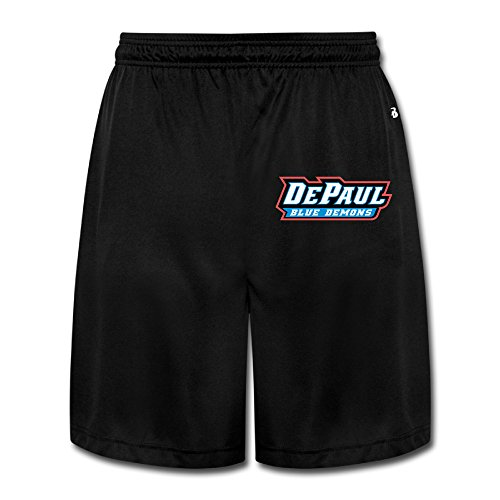 Price comparison product image MayDay DePaul Blue Demons University Men's Short Sweatpants XL Black
