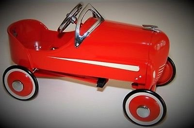 High End Collector Pedal Car Vintage 1940 Ford GP F 1 24 Indy 500 Soap Box Derby 18 Race GT Antique Hot Rod Auto Racing Midget T Model 1966 Racer Art 40 Classic Metal Collectible NOT Child Ride On Toy