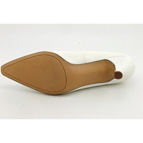 Karen Scott Clancy Womens Size 6 White Pumps Heels Shoes