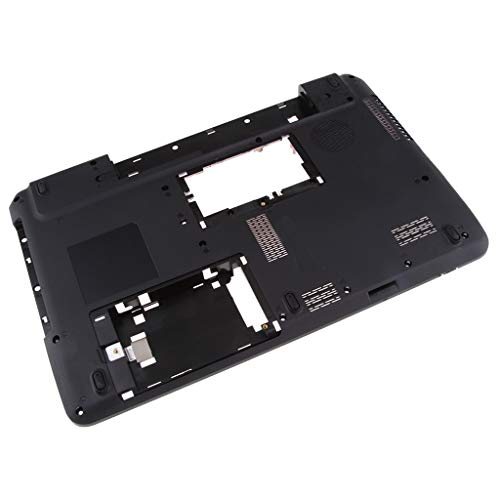 Cover Base Notebook (Baosity 1Pack Replacement Notebook Bottom Base Case Cover Chassis Assembly for Toshiba Satellite C650 C655 655d Laptop,Black)