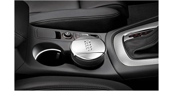Audi Cenicero papelera utilizable en la mayoría de los modelos más nuevos de OEM Genuino parte: Amazon.es: Coche y moto