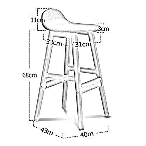 DBL Trä Fream-tyg säte frukost kök utmärkt stabilitet modernt utseende konferensbord kontor miljö skrivbordsstolar (färg: T3)