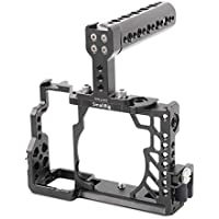 SmallRig Professional Camera Cage for Sony A7 / A7S / A7R Full-Frame Mirrorless Digital Camera with Top Handle and HDMI Cable Clamp - 2010