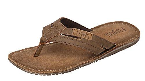 Flojos Alonzo Mens Comfort Flip Flops Sandals Shoes
