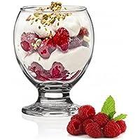 SABLES & REFLETS Coupes à Dessert/Verrines / 220 ML/Entrée ou Dessert (Set de 6)