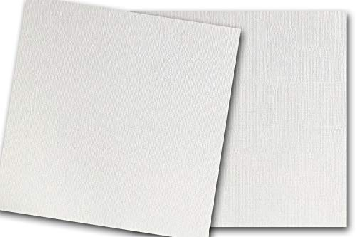 (Premium Pearlized Metallic Textured Wedding Cake White Card Stock 20 Sheets - Matches Martha Stewart Wedding Cake - Great for Scrapbooking, Crafts, Flat Cards, DIY Projects, Etc. (12 x 12))