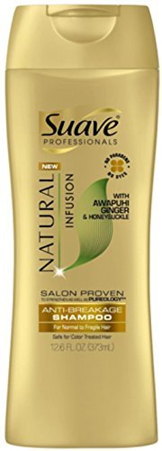 Suave Prof Shampoo Natural Gold Infusion Anti Breakage 12.6oz (Pack of 2)