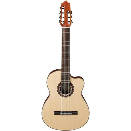 id Top Classical Acoustic 7-String Guitar Gloss Natural (Gloss Top Acoustic Guitar)
