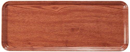 Carlisle 2310WFG062 Fiberglass Glasteel Wood Grain Metric Tray, 23.19