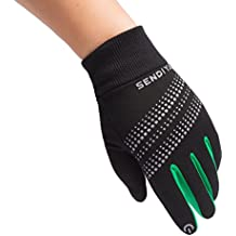 Winter Gloves for Men & Women with Touch Screen Fingers Warm Texting Mittens Thermal Gloves Driving Gloves