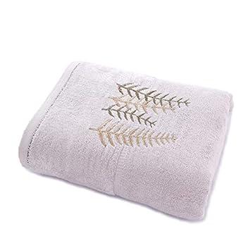 Toallas de baño Toalla de lujo suave, tela súper absorbente y natural Respetuoso con el