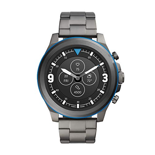 Fossil Men's Latitude Hybrid HR Smartwatch with Always-On Readout Display, Heart Rate, Activity Tracking, Smartphone…