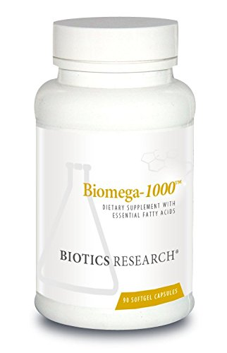 Biotics Research Biomega-1000  - Omega-3 Fish Oil Supplement, Highly Concentrated Fish Oil with EPA/DHA, Omega-3 fatty acids, Supports Immune, Inflammatory Responses, Cardiovascular 90 ct