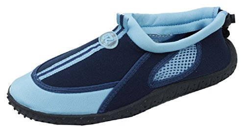 New Starbay Brand Womens Athletic Water Shoes Aqua Socks Blue 2905