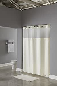 Hookless RBH53MY307 3-in-1 Shower Curtain, Beige