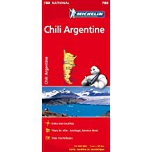 Chili Argentine 788 - Carte nat.