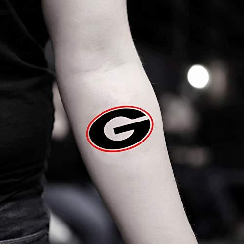 (Georgia Temporary Fake Tattoo Sticker (Set of 2) - www.ohmytat.com)