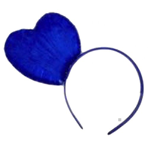 Katy Perry Blue Hair Costumes - Katy Perry Blue Heart Headband Costume Accessory Adult Womens Halloween