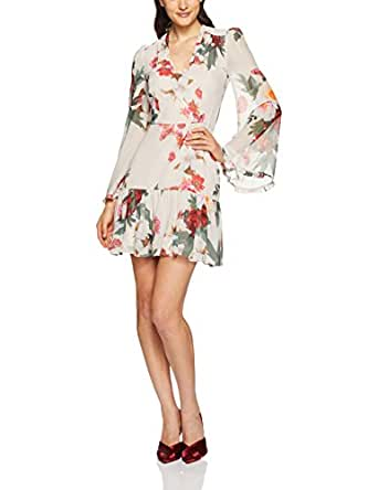 Cooper St Women's Rosa Long Sleeve Mini Dress, Print, 10
