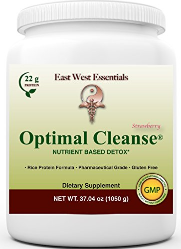 Optimal Cleanse – Strawberry by East West Essentials – Helps Eliminate Toxins from The Liver and Fat Cells – AIDS in Weight Loss – Can Be Used As A Meal Replacement For Sale