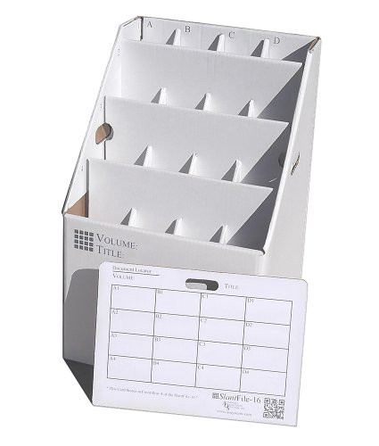 (Offex Upright Rolled File Storage - White - 16)