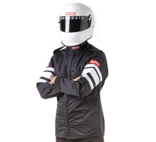 RaceQuip 121006 121 Series X-Large Black SFI 3.2A/1 Multi-Layer Driving Jacket