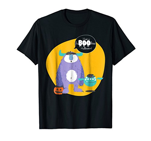 Have A Faboolous Halloween Scary Trick Or Treat T-shirt.